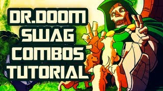 Ultimate MvC3 | How to: Dr. Doom Swag (TAC) Combos