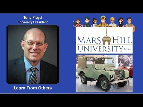 056: University President - Tony Floyd leads Mars Hill University to new levels of success
