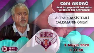 Cem Akdağ (Eski Altyapı Milli Takımlar ve Süper Lig Antrenörü)