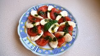 Sałatka caprese - pomysł na pyszną lekką kolację