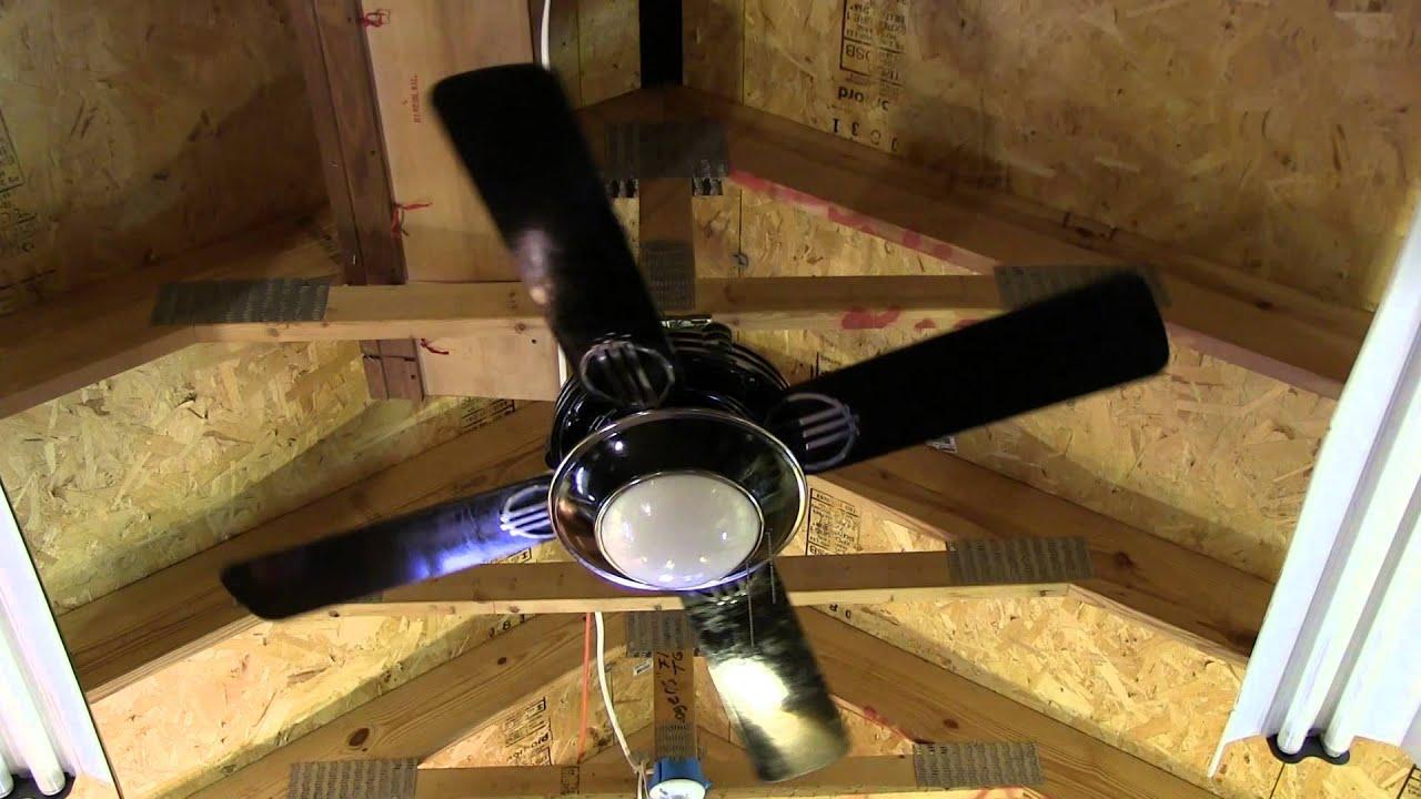 Hunter 1930s original ceiling fan in black model 23734 part 2 4 hunter 1930s original ceiling fan in black model 23734 part 2 4 blades mozeypictures Images