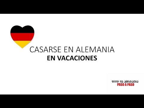 ¿Quieres casarte en Alemania con tu novio/a durante las vacaciones Es posible