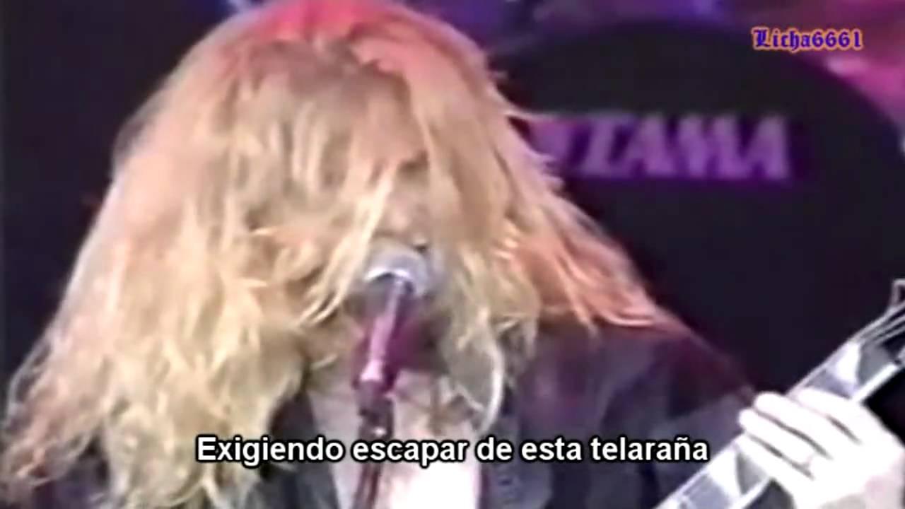 Megadeth Black Curtains Subtitulos Español HD YouTube