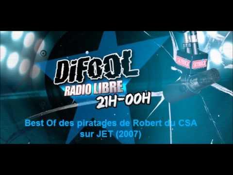 Difool (Skyrock) - Les piratages de Robert du CSA sur JET, le best of (2007)