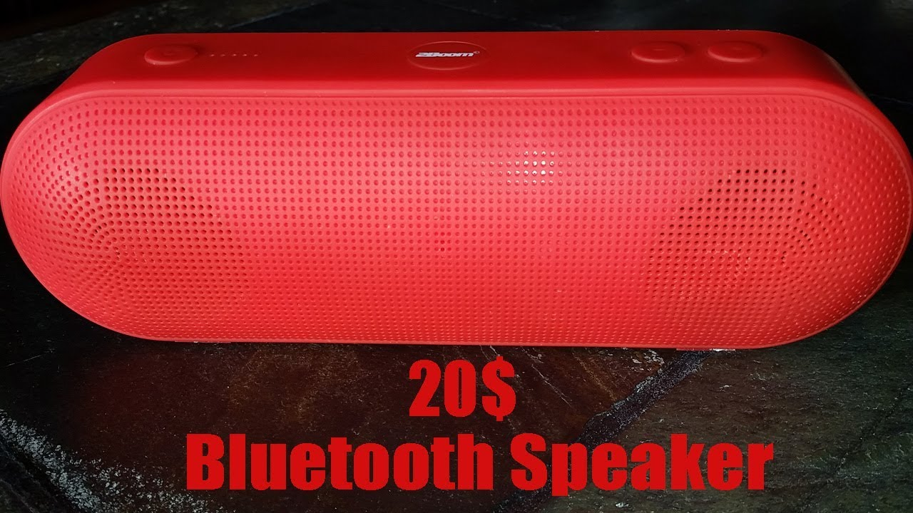 2BOOM Wireless Bluetooth Speaker- Review (ONLY $20)