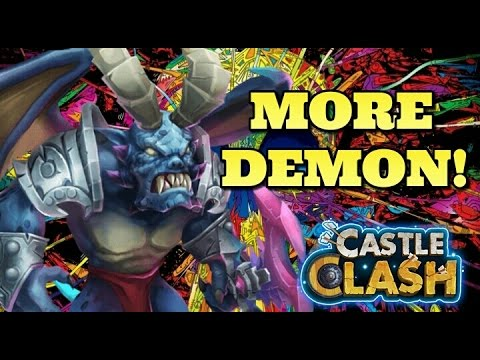 Castle Clash Archdemon Eye Catcher! Almost 700M Damage!