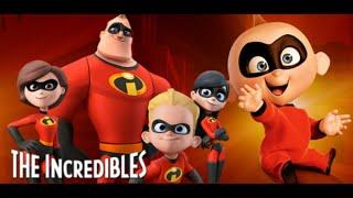 The Incredibles Family vs robot and boss, gia đình siêu nhân tiêu diệt robot và ông trùm...