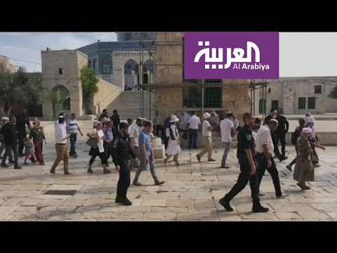 متطرفون يهود يقتحمون باحة المسجد الأقصى  - 22:00-2020 / 2 / 12