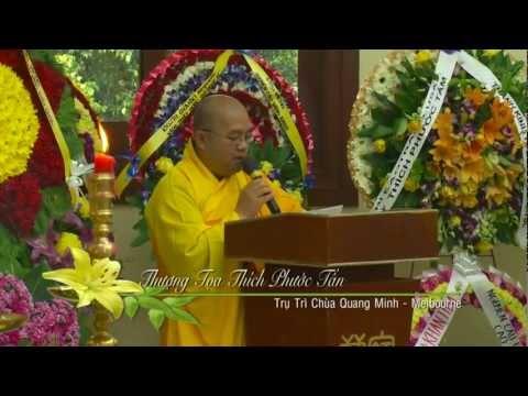Lễ Truy Niệm Cố Đại Lão Hoà Thượng Thích Phước Huệ