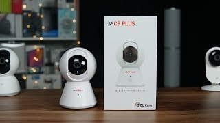 CP Plus Ezykam 360 Degree Wi Fi Security Camera Overview, Setup, Features
