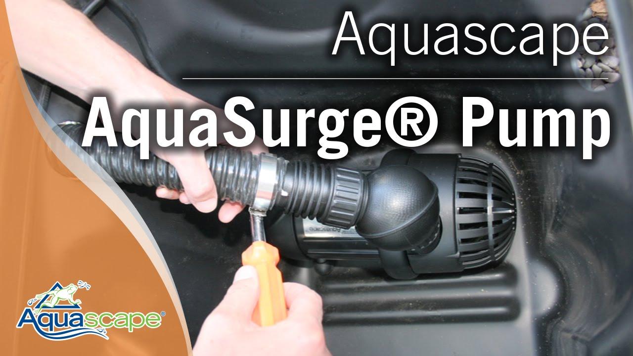 Aquascapeu0027s AquaSurge® Pump   YouTube