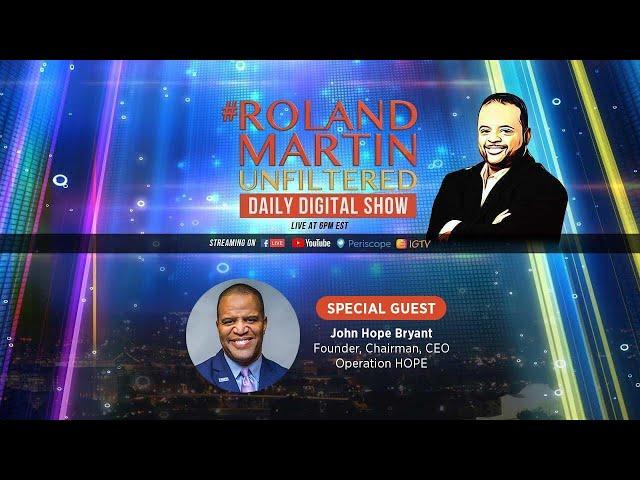 #RolandMartinUnfiltered on May 19