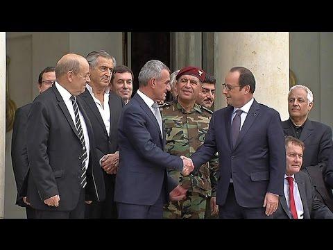 Une délégation de peshmergas à Paris à l'initiative de BHL