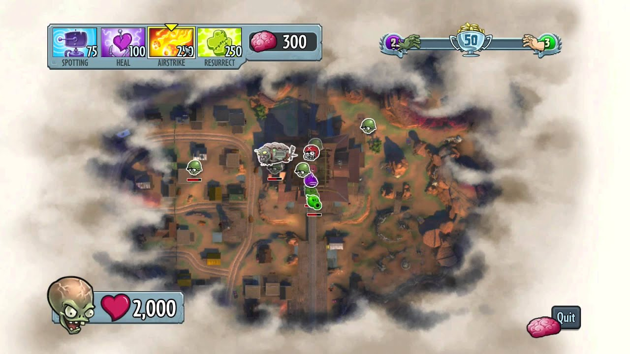 Plants vs Zombies Garden Warfare - Boss Mode Gameplay (PC) - YouTube
