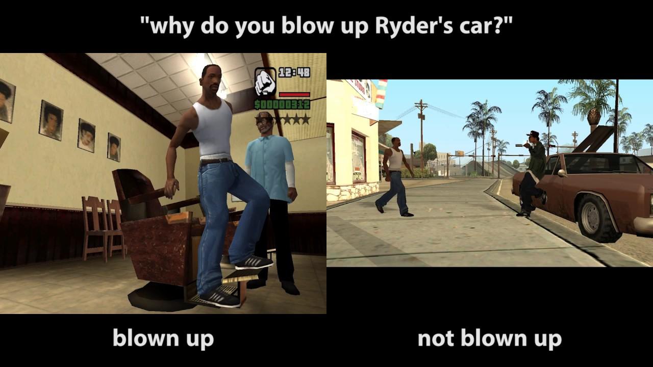 You Can T Stop Me Ryder Gta San Andreas Gta San Andreas