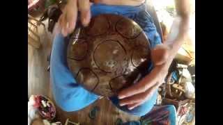 Sintonia Steel Tongued Hang Drum