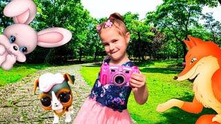 Куклы ЛОЛ и новый фотоаппарат ПРОПАЛИ Алина и Юляшка  в поисках
