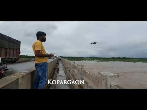 Mk Creations   Kopergaon River  Drone Shoot