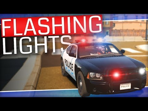 Flashing Lights | I AM THE LAW