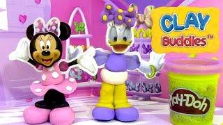 Pâte à modeler Minnie Mouse Clay Buddies Fête de Minnie et Daisy