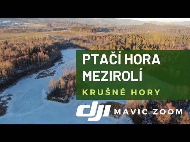 Krušné Hory - Nová Role, Ptačí hora, Přebuz /Mavic 2 Zoom