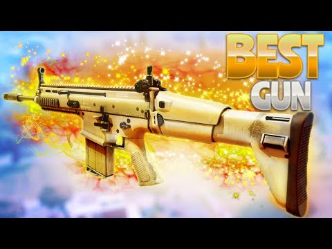 THE BEST GUN! (Fortnite Battle Royale)