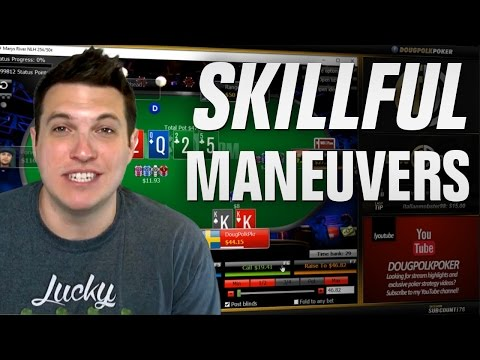 Skillful Maneuvers! (Day 28, Bankroll Challenge)