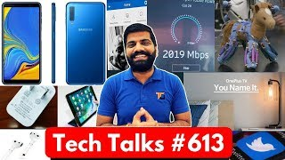 Tech Talks #613 Realme 2 Giveaway Results, OnePlus TV, 2Gbps Data, Galaxy A7 3 Cameras, iPad USB C