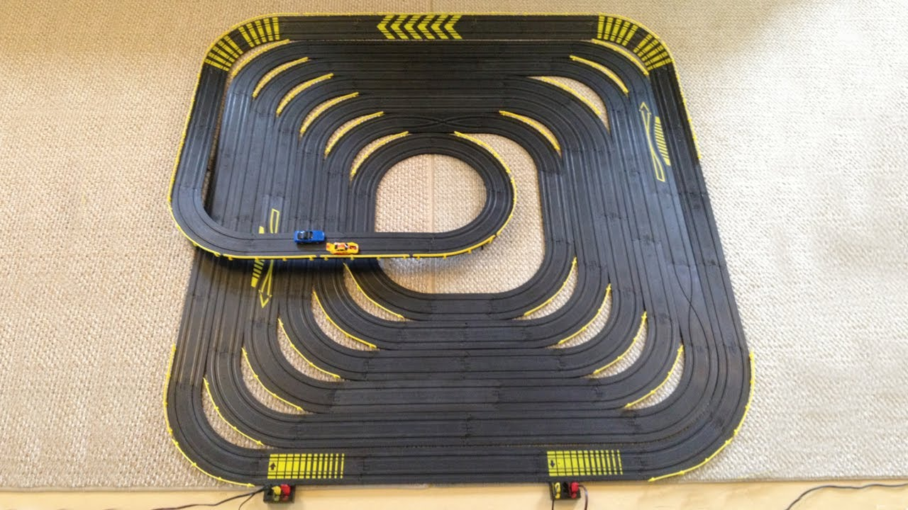 Large Slot Car Tracks Circuit Diagram Maker