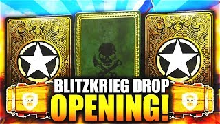 """MASSIVE x5 EPIC & HEROIC WEAPON BRIBE """"BLITZKRIEG EVENT"""" HEROIC SUPPLY DROP OPENING on COD WW2!"""