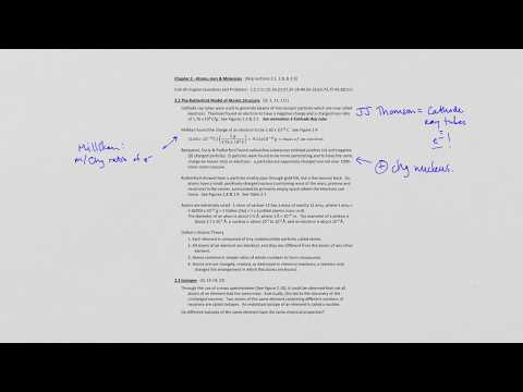 Chapter 2 Part 1 (Early Discoveries/Isotopes) [Online Course]