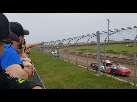 5-25-19 Junction Motor Speedway Stock Car Heat Kyle Dumpert