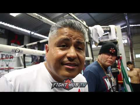ROBERT GARCIA WOULD LOVE TO SEE ANTHONY JOSHUA VS ANDY RUIZ FIGHT!