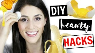 DIY All-Natural Beauty Hacks