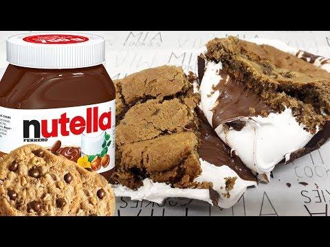 🍪 Ovo de páscoa Nha Benta com Nutella 🍪 Ovo de cookies