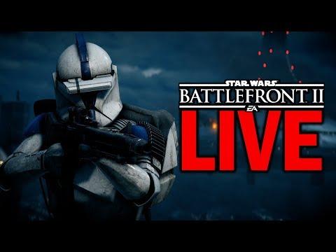 STILL NO NEWS! Star Wars Battlefront 2 Live Stream #77