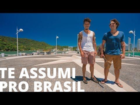 Te Assumi Pro Brasil - Matheus e Kauan (Leash cover acústico) Nossa Toca na Rua