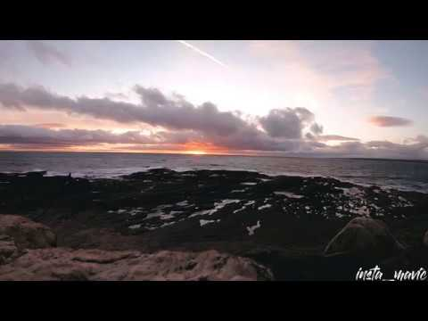 An Irish Sunset From Hook Head, Co. Wexford, Ireland - Time-lapse
