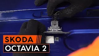 How to replace Brake rotors SKODA OCTAVIA Combi (1Z5) Tutorial