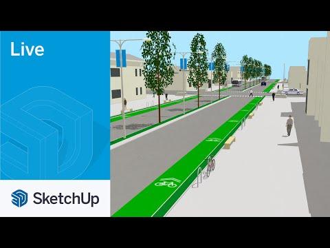 Urban Design Live in SketchUp!