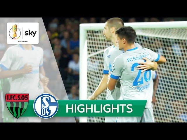 1. FC Schweinfurt 05 – FC Schalke 04   Highlights DFB-Pokal 2018/19 - 1. Runde