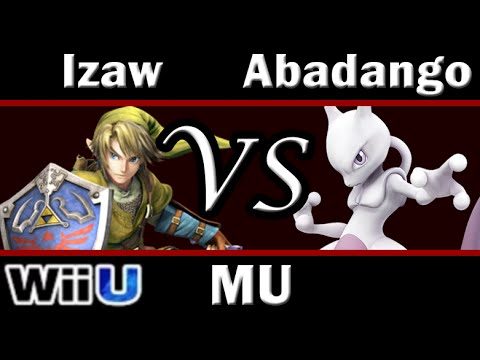 Smash 4 Izaw(Link) vs Abadango(Mewtwo) Match-up Analysis - Mewtwo