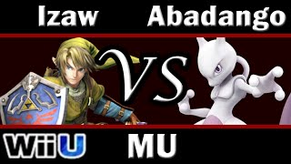 Smash 4 Izaw(Link) vs Abadango(Mewtwo) Match-up Analysis - Mewtwo