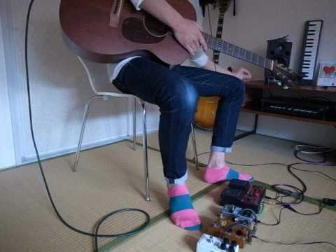 Boss Rc-30 Acoustic Solo Guitar Loop Station Beatiful Demo Pinksocks