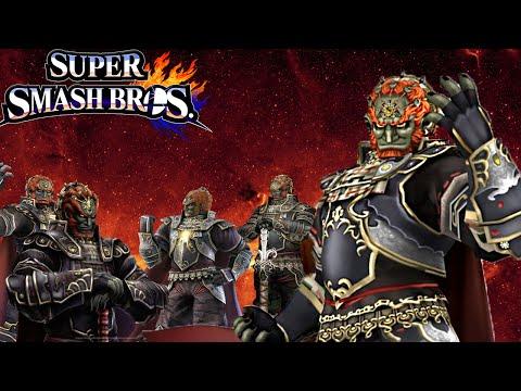 """The King of Kings"" - Ganondorf Smash Bros. Wii U Montage"