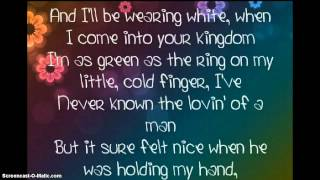 Lyrics Of The Band Perry If I Die Young