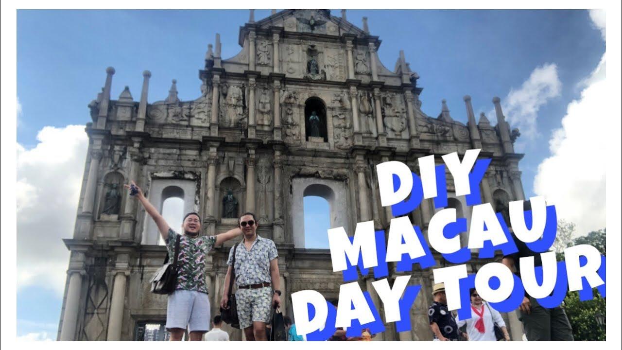 Macau Day Tour - DIY | Hong Kong Trip 2019 | AJ and Mikey