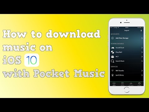 How to download music on iOS 10 with Pocket Music