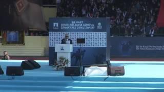 Çanakkale Belediye Başkanı Sayın Ülgür Gökhan'ın 18 Mart Tören Konuşması