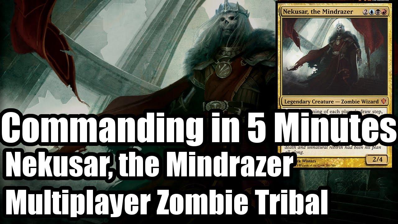 Download Commander In 5 Minutes: Nekusar, the Mindrazer